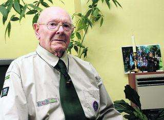 "Britain's ""longest serving"" Scout, Reg Hayes, has died aged 99"